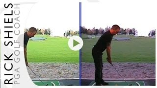 STOPPING FORWARD HIP THRUST GOLF LESSON