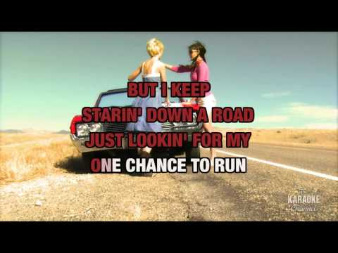 Born To Fly (Radio Version) in the style of Sara Evans   Karaoke with Lyrics
