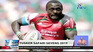 Collins Injera makes a come back to Tusker Safari 7s, 2019