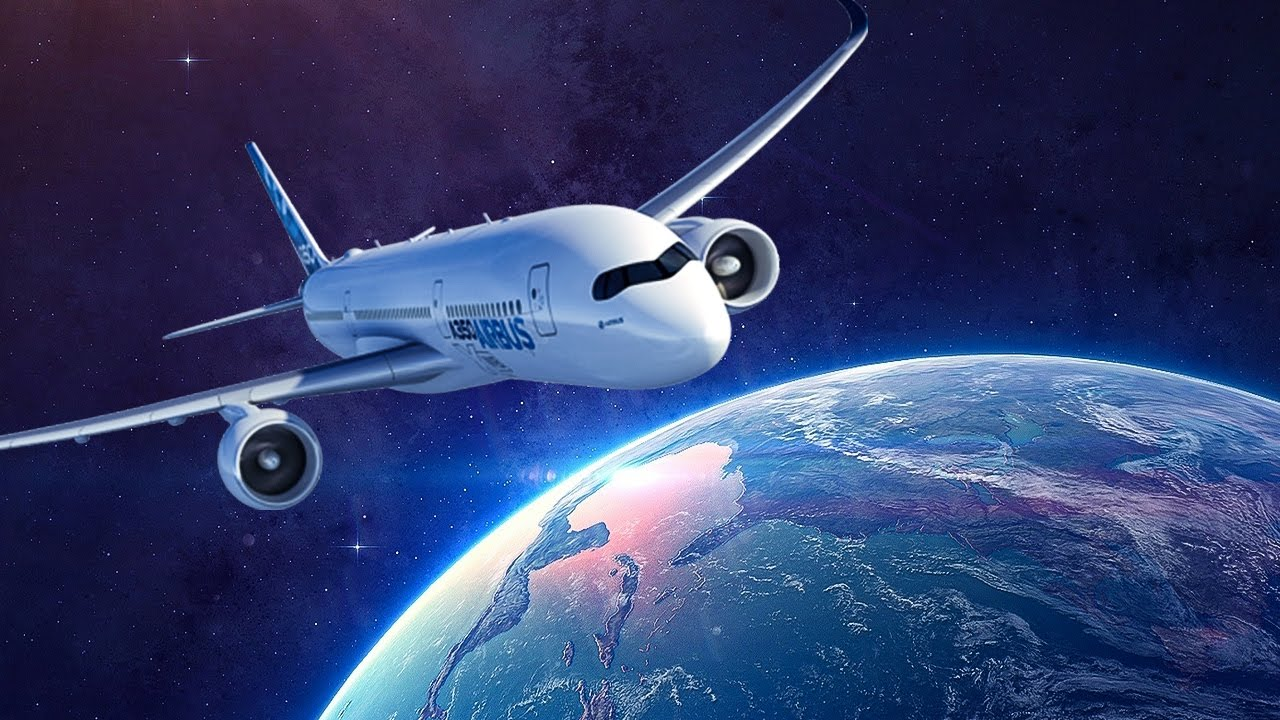 Why airplanes cannot fly into space youtube for Flying spaces