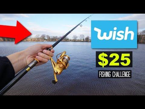 $25 WISH Fishing Challenge!! (Surprising!)