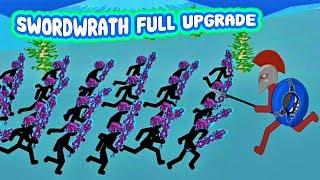 Stick War: Legacy Huge Update | Stick Swordwrath VAMP full upgrade | Gameplay (Part 185) 2019 FHD