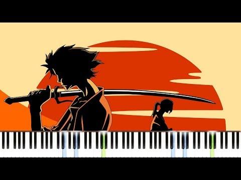 Samurai Champloo - Obokuri Eeumi [Piano Tutorial] //Synthesia