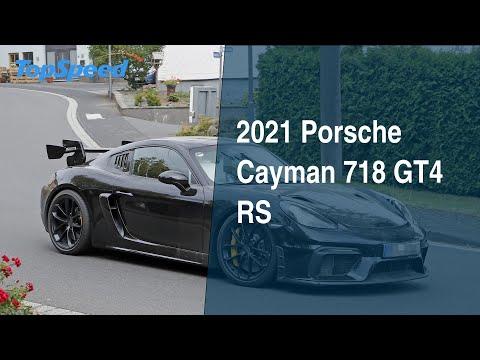 2021 Porsche Cayman 718 GT4 RS