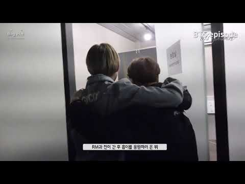 180312 Jhope Happy & Hugging each and every members tightly [Episode] Jhope 1st mixtape MV Episode 2