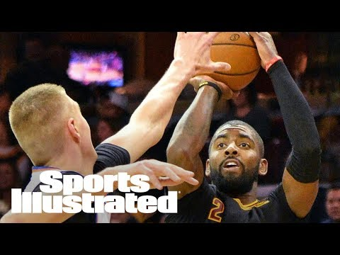 Kyrie Irving For Kristaps Porzingis: Would Cavs, Knicks Reject Trade? | SI NOW | Sports Illustrated