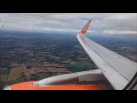 Easyjet Full Flight - London Gatwick to Toulouse (Brand new A320!)