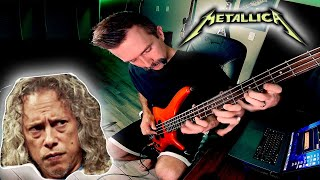 Playing the HARDEST Metallica solo on BASS