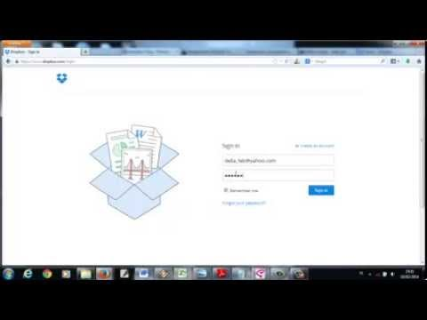 how to add a link to dropbox