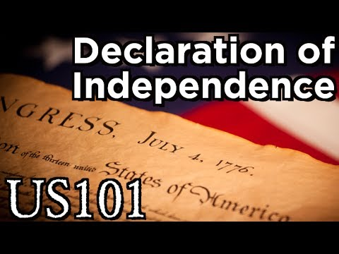 The Declaration of Independence - US 101