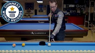Jump shot tutorial: Record-breaking pool trick shot star Florian Kohler shows you how!