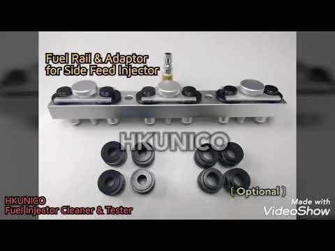 HKUNICO Fuel Injector Cleaner & Tester  [ Model: INJ-6AG ]