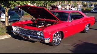 Pro Touring 502 big block 4spd 1966 Chevrolet Impala SS on