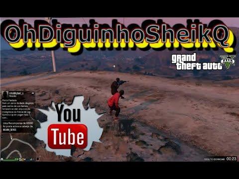 GTA V online Era pra ser  da Série mas mudei de ideia  DiguinhoSHeik