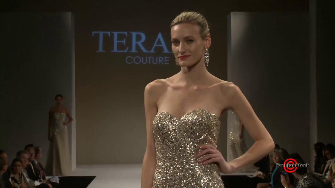 2731e9a29da0 Terani Couture - Bridal SS13 Fashion Runway Show Video - YouTube