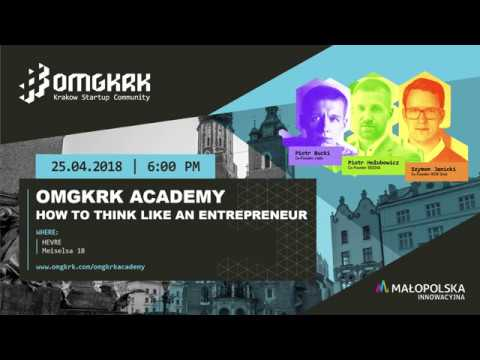 OMGKRK Academy | How I Built A 250 Person Company by Piotr Bucki Co-Founder of j-labs