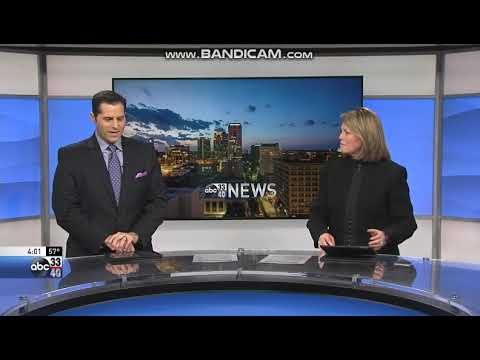 WBMA ABC 33/40 News at 4pm open January 9, 2018