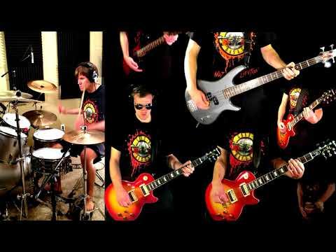 Perfect Crime - Guns N' Roses Guitar (Solo) Bass Drum Cover + Tabs