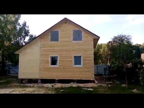Дома из бруса 6х6 с верандой цена Казань