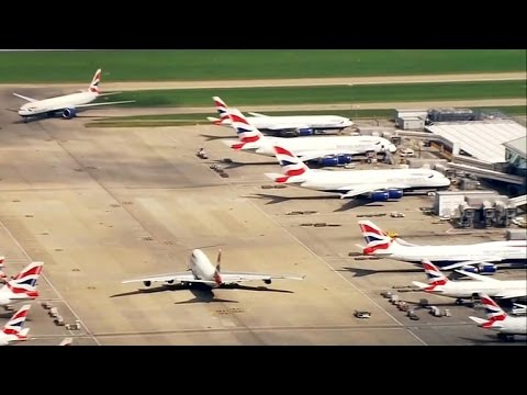 "British Airways cancels flights after ""severe"" IT outage"