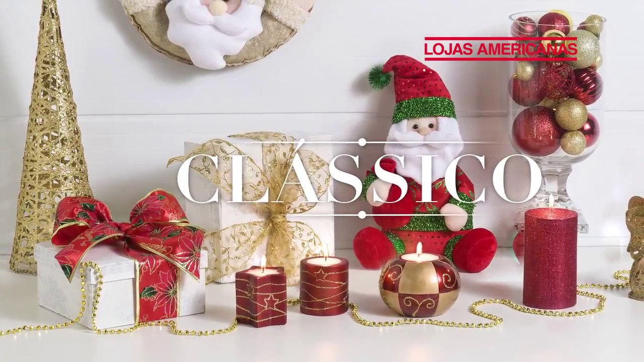 Decoraç u00e3o de Natalé na Lojas Americanas YouTube -> Decoração De Natal Para Loja Infantil