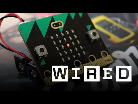 BBC Micro:Bit Hands On | WIRED