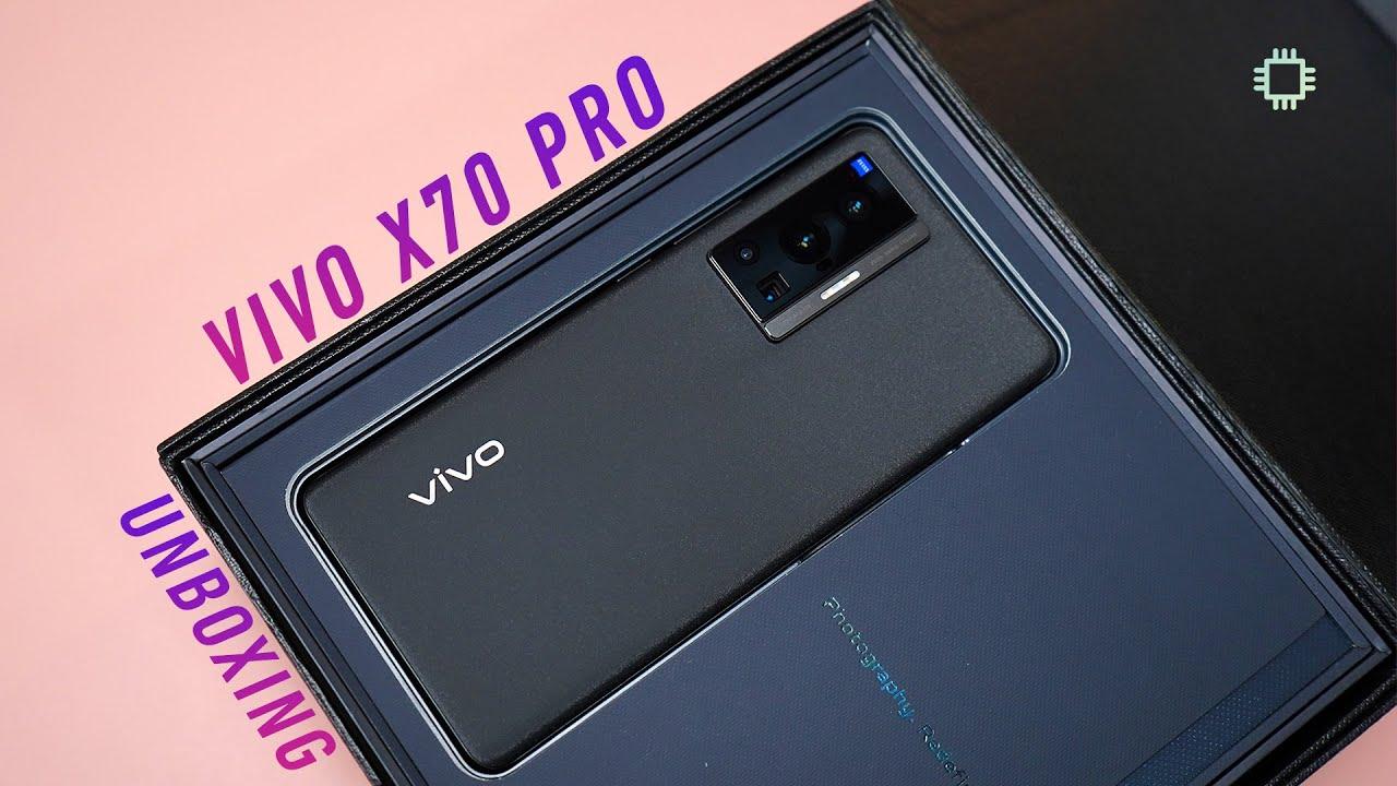 vivo X70 Pro Unboxing: Professional-grade stabilisation at your fingertips! - KLGadgetTV