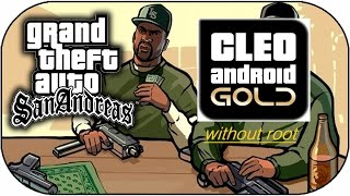 how to use cleo without root (cheat in gta san andreas  android)
