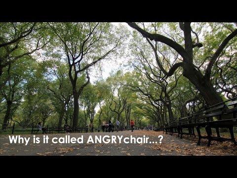 Why is it called ANGRYchair?