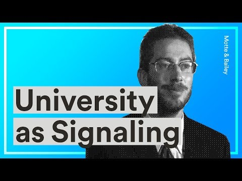 University as Signaling — Bryan Caplan on the Shallow Nature of Current Year University Education