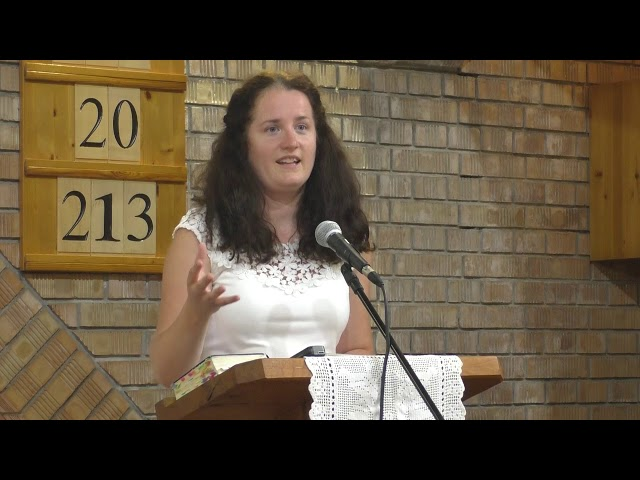 Verebics Petra Igehirdetése 2019.08.17. Megbékélés Háza Templom - Országos Csendesnapok