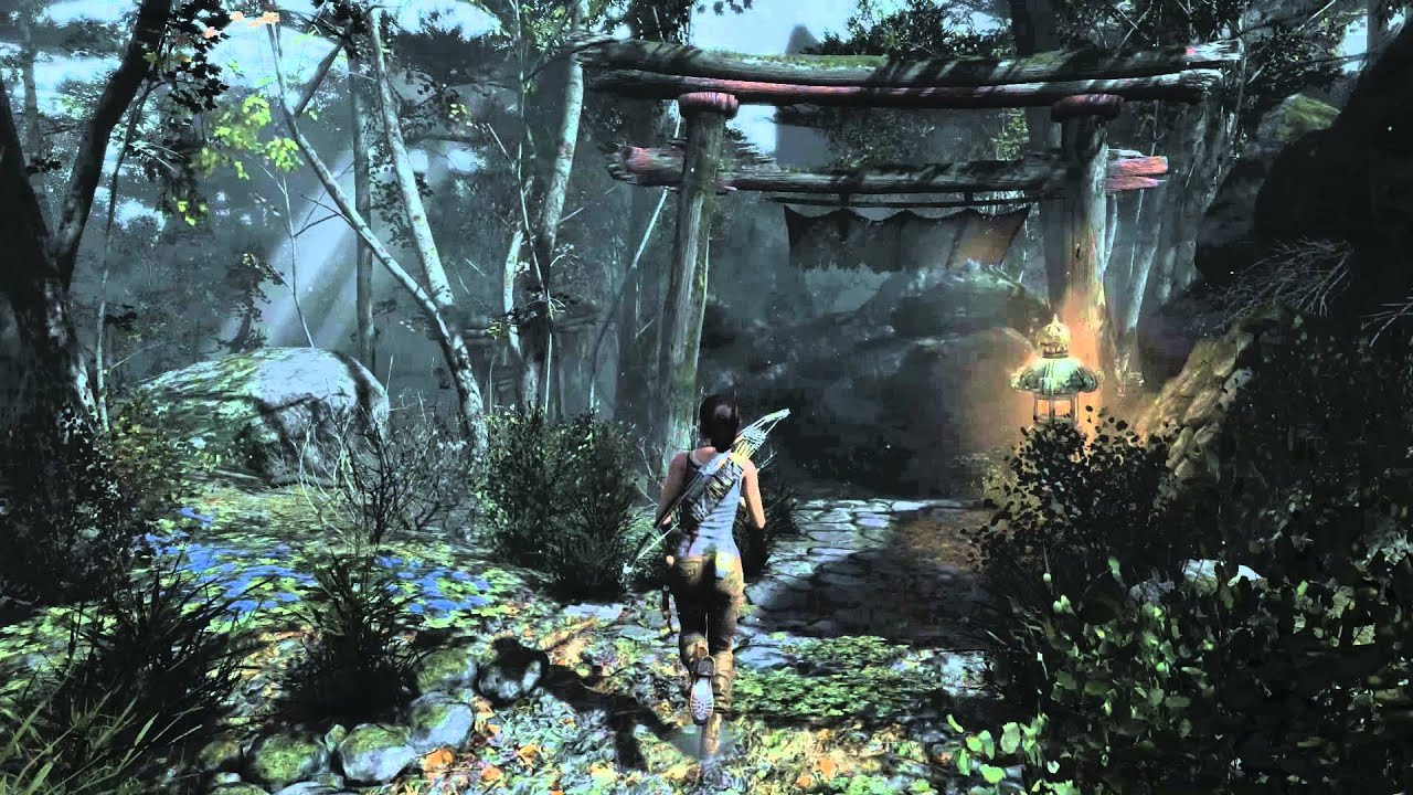 Tomb Raider 2013 Pc Gameplay Inc New Driver And Patch Youtube