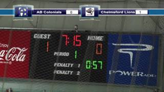 Acton Boxborough Varsity Boys Hockey Vs Chelmsford 1/8/14
