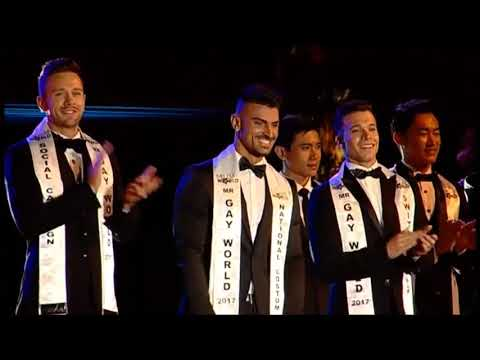 Mr Gay World 2017 John Raspado Overall Performance in Spain