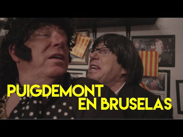 La reunión de Puigdemont en Bruselas ya tiene parodia
