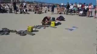 drummer beach techno dario rossi