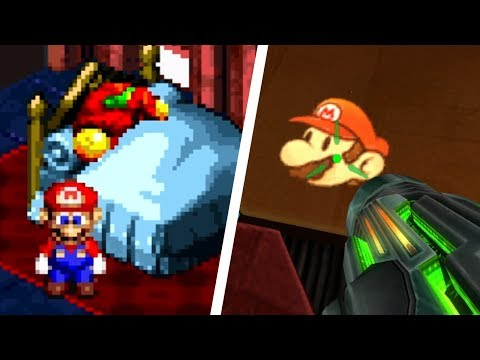 All Metroid References in Mario Games and Vice Versa (1986 - 2018)