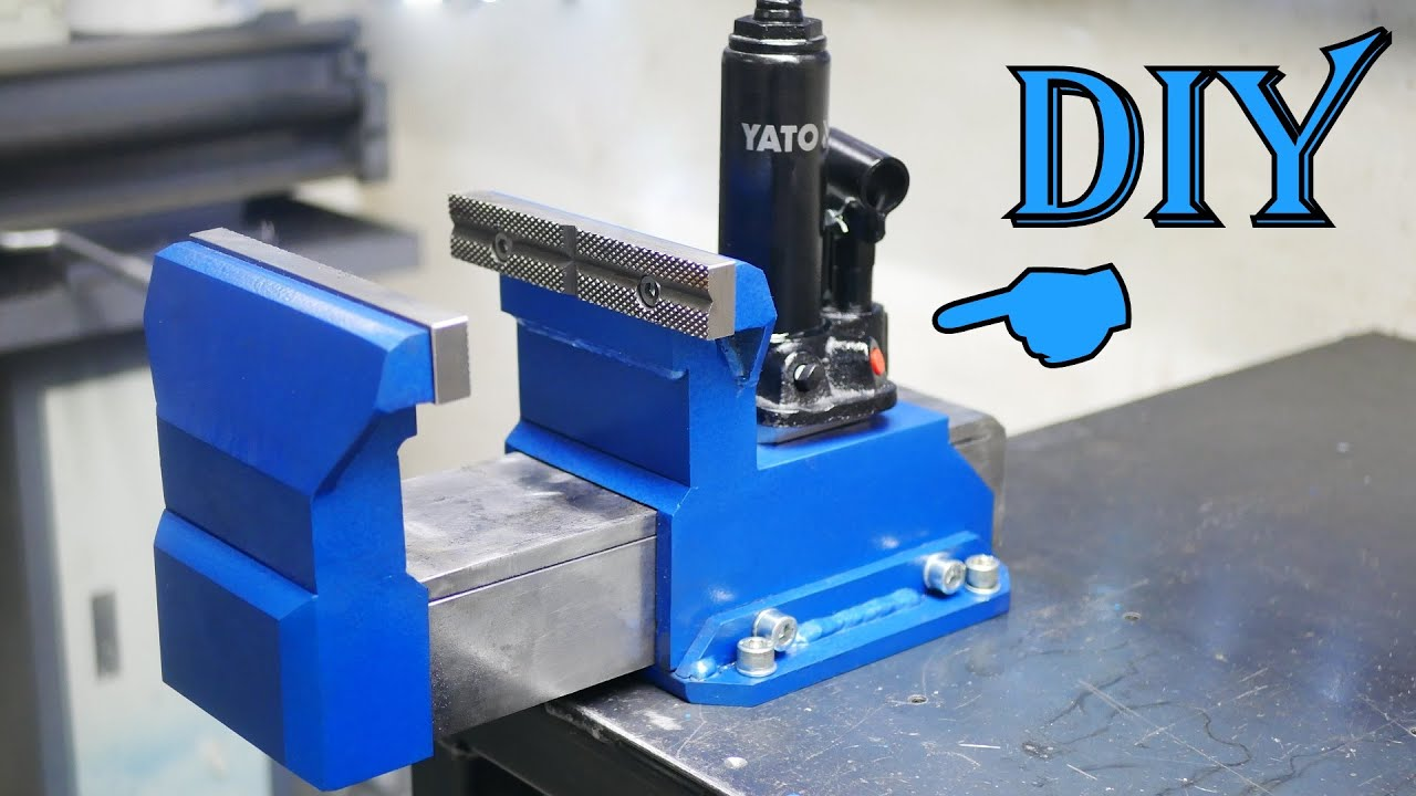 Hydraulic Bench Vise [PLANS]