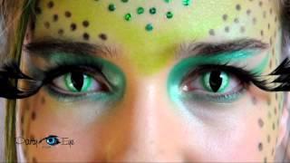 Kolorowe soczewki PartyEye Crazy - Wild Cat / Color Contact Lenses