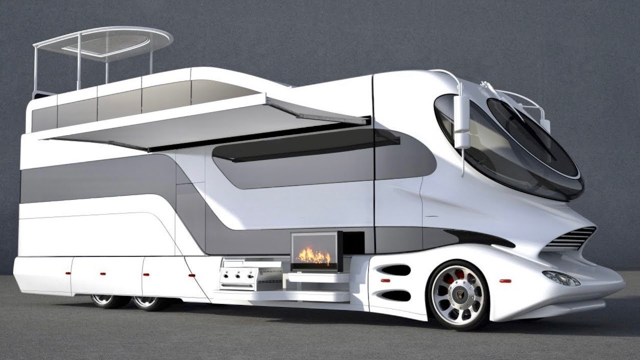 Most Insanely Luxurious Rv In The World Elemment Palazzo With Sky Lounge