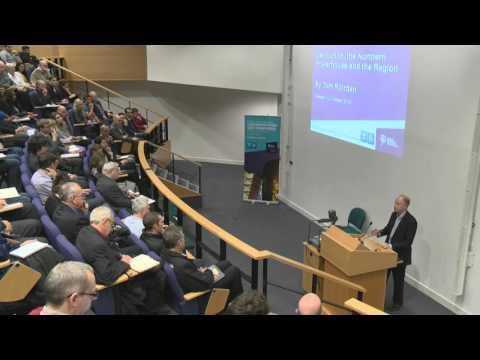 Devolution, The Northern Powerhouse and the Region - Tom Riordan