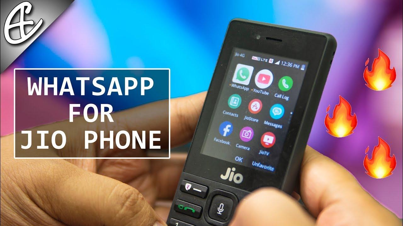 whatsapp youtube maps on jio phone hands on youtube