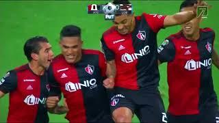 Gol de Anderson Santamaría | Atlas 1 - 0 Lobos BUAP | Liga MX - Clausura 2019 - Liga MX - Jornada 4