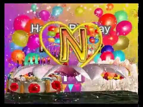 n love whatsapp status new n letter status happybirthdayn name
