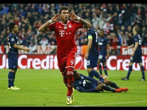 Bayern Munich vs Manchester United 3-1 All Goals & Highlights 09/04/2014 HD - YouTube