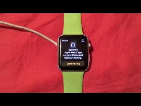 How to reset a Apple Watch back to factory settings