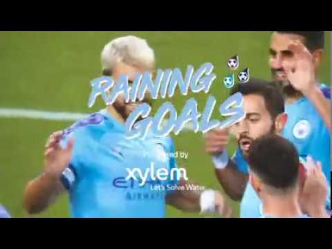 Xylem and Manchester CIty partner for RAINING GOALS- OCTOBER   SPLASHES Check out spectacular goals from @Man City in October 2019.