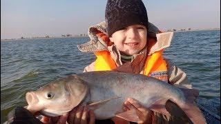 Взял СЫНА на рыбалку - КЛЕВАЛО ВСЁ!!!
