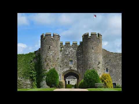 АНГЛИЯ Средневековый замок AMBERLEY CASTLE