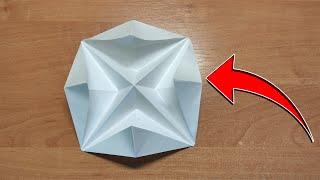 Оригами КАПКАН  Как сделать КАПКАН из бумаги А4 без клея и ножниц  D Y OR GAM  KAWA